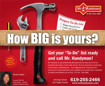 Directory Ad - Mr. Handyman | BRANDgfx Design and ...