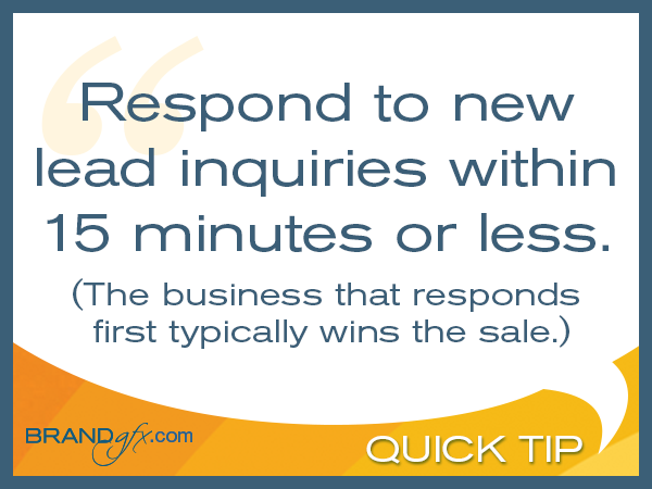 New Lead Response Times