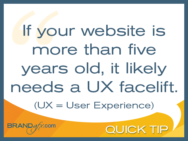Your Website Needs a UX Facelift