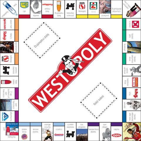 Board Game Westopoly BRANDgfx Design And MarketingBRANDgfx - Board game design