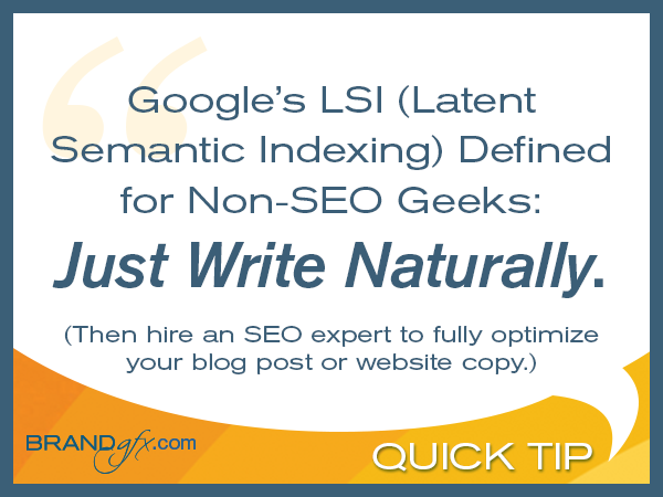Keywords for Latent Semantic Indexing (LSI) Explained